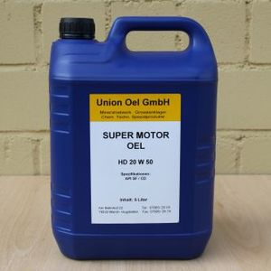 Union Super Motor Öl - HD 20 W 50