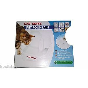 Cat Mate Potable Chiens Pet Fountain Chats