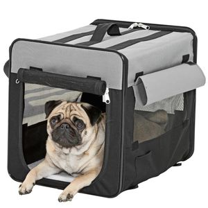 KARLIE Transportbox SMART TOP Faltbox Hundebox Tragetasche Hunde