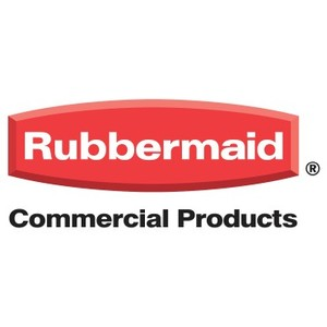 RUBBERMAID Abfallcontainer 100l Deckel rot B.520xT.560xH.860mm m.4 Rädern