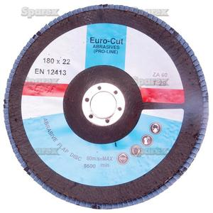 DISC-FLAP-180X22MM P60