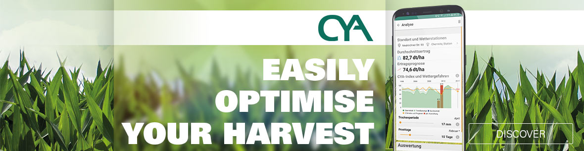 CYA - Easily optimize your harvest