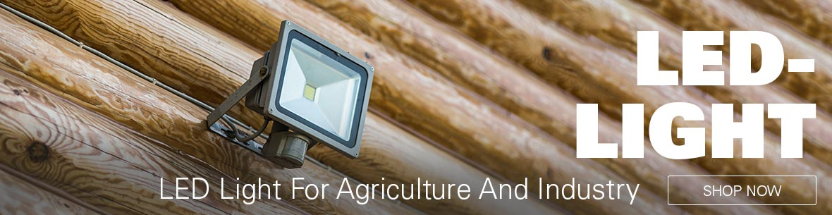 LED-Light for Agriculture and Industry